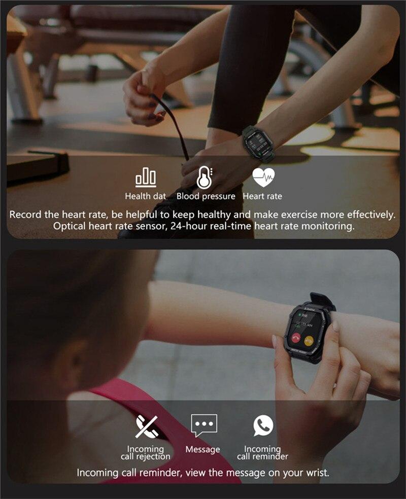 bateria esporte smartwatch rastreador de fitness para android ios