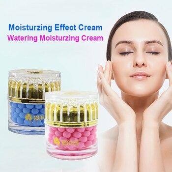 Crema de día noche blanqueador hidratante ácido Hialuronico Crema Para O rosado...