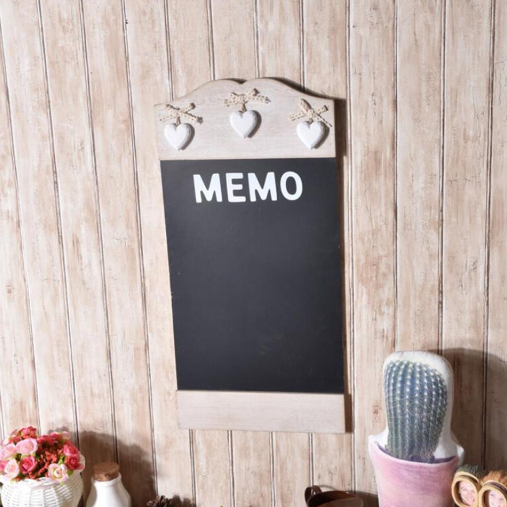 Mini Blackboard Hanging Chalk Board Memo Plant Sign Note Plate Unique Simple