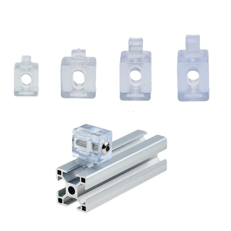 1PC 2020 Aluminum Spacer Block 3030 4040 4545 Interval Connection Bracket Fastener Match Use Aluminum Profile