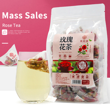 Qiao Yuntang Rose tea 150g bag Triangle bag Dried rose petals edible water bubble tea, health tea for blood circulation and pain clarins 751 tea rose