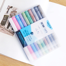 10 Pcs/Box Drawing Painting Marker Pens Metallic Color Pen for Black Paper Art Supplies Marker Stationery Material Signature Pen