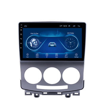 цена на 2 Din Car Android Multimedia Player For Mazda 5 2005 2006 2007 2008 2009 2010 9 Inch  Radio Audio GPS Navi WIFI