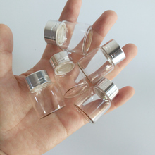 8ml tiny glass decor bottles small empty glass jar with Silver lid 27*35mm little wishing bottle 50pcs/lot цены