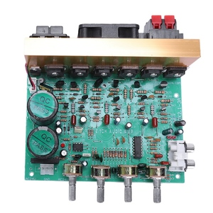 Audio Amplifier Board 2.1 Channel 240W High Power Subwoofer Amplifier Board Amp Dual Ac18 24V Home Theater Microphone Accessories    -