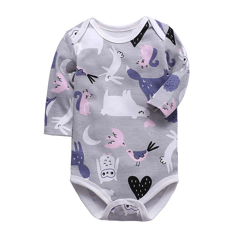 Baby Bodysuit Newborn Clothing Cotton Body Baby Long Sleeve Underwear Infant Boys Girls Clothes Baby's Sets