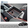 Для Защитные чехлы для сидений, сшитые специально для Toyota Corolla E210 2019 2020 консоли Подлокотник для хранения Организатор автомобильные аксессуа...