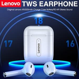Image 1 - Auricolari Wireless Lenovo Bluetooth 5.0 TWS con microfono PK auricolare Wireless Air 2 Smart Sensor Rename cuffie sportive GPS