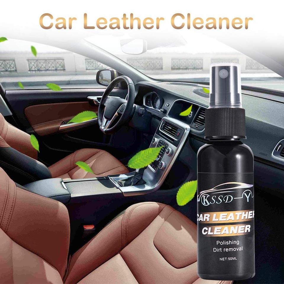 50 Ml Car Wax Interior Repair Instrument Panel Leather Trim Dusting Liquid Car Leather Cleaning Kit Car Cleaning Gel 30s11 Leather Cleaner Aliexpress