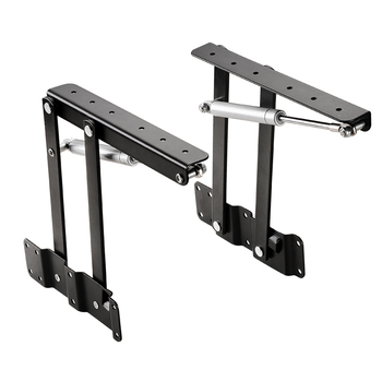1 Pair New Coffee Table Lifting Frame Folding Lift Up Top Mechanism hydraulic buffer Hinge Hardware Set bear more 50Kg