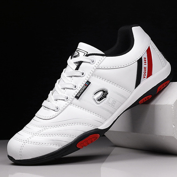 Męskie sportowe buty do biegania lekkie skórzane buty do chodzenia dla mężczyzn lekkoatletyka buty treningowe tenisowe buty do biegania siłownia tanie i dobre opinie CNFIIA CN (pochodzenie) LIFESTYLE Zapewniające stabilność Na twardy kort Zaawansowane oddychająca Masaż Średnia (B M)