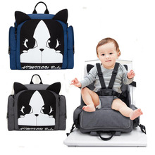 Portable dining chair bag Mummy multi-function large capacity treasure mother out diaper child feeding safety care seat