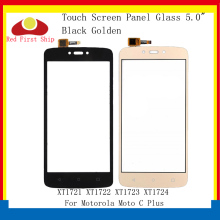 цена на 10Pcs/lot Touch Screen For Motorola Moto C Plus XT1721 XT1722 XT1723 Touch Panel Digitizer Sensor Front Outer LCD Glass Lens