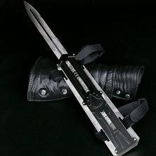 2020 металлический меч невидимый рукав Подвижная кукла оружие