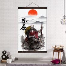 Настенное художественное полотно плакат и печать Свиток холст