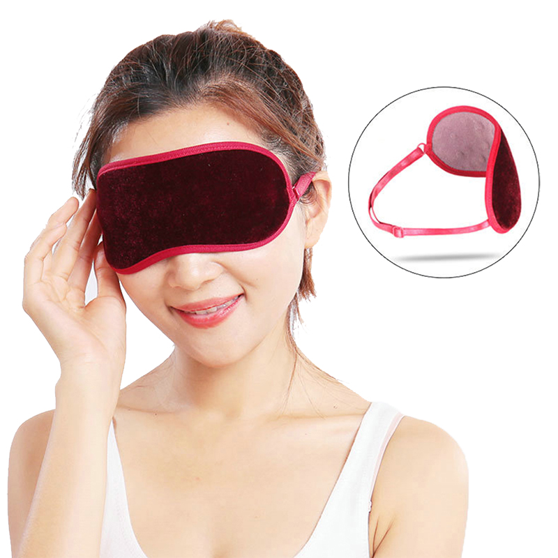 Tourmaline Eye Cover Sleeping Mask Eyeshade Infrared Magnetic Eyepatch Blindfolds Relief Fatigue Night Mask Glasses For Sleep