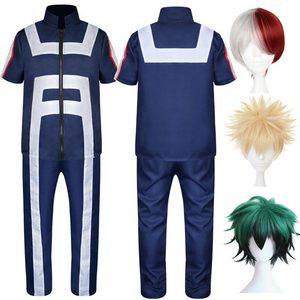 Mój bohater Academia przebranie na karnawał dorosły Asui Tsuyu Boku bez bohatera Midoriya Bakugou Katsuki Iida Tenya Todoroki Shouto Sportswear