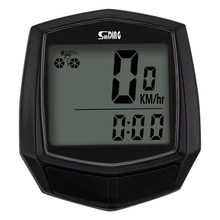 купить Sunding Bike Wired Stopwatch Bicycle Computer Multifunction Speedometer Odometer Sensor Outdoor Sport Accessories SD-581 Black дешево