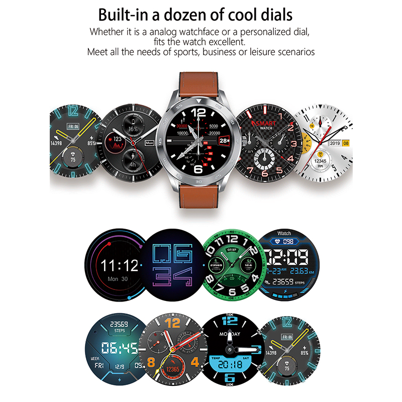Image 4 - Smart Watch Bluetooth Call ECG PPG Fitness Watch Heart Rate Blood Pressure Smartwatch IP68 Waterproof Men Sport Watch-in Smart Watches from Consumer Electronics