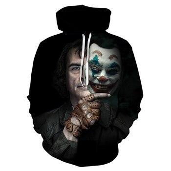 Hip hop brand clothing black hoodies men 2020 new arrival long sleeve tracksuit funny joker streetwear sweatshirts winter jacket - discount item  50% OFF Hoodies & Sweatshirts