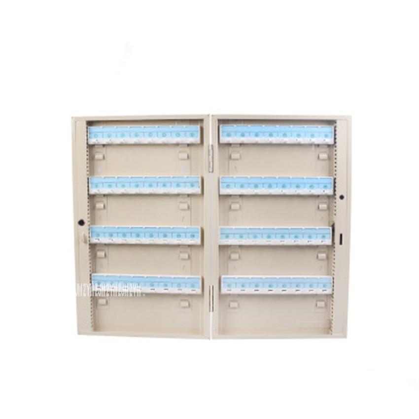 BD-B64 Metal Key Management Box Galvanized Surface Powder Coating Treatment Wall Mounting Key Storage Cabinet Without Key Card