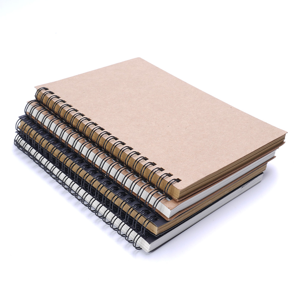 Sketchbook Diary For Drawing Painting Memo Graffiti Notebook Sketch Soft Black Office Supplies Pad Cover Paper Gift School Book