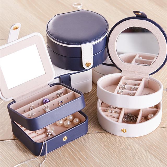 Monaco Round Jewelry Case