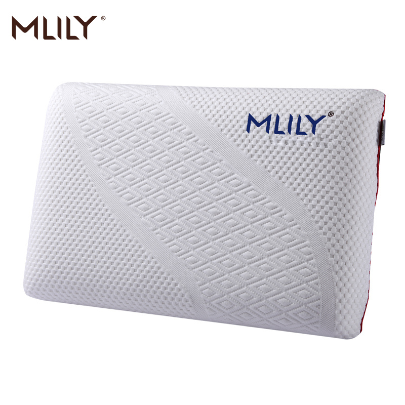 Mlily Memory Foam Pillow Slow Rebound Pressure Orthopedic Cervical Neck Manchester United Bed Pillow For Sleeping
