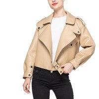 YICIYA Sheepski Ladies Winter Coat Jackets And Coats Women 2020 Quality Leather Coat Fashion Long Sleeve Jackets Undefined