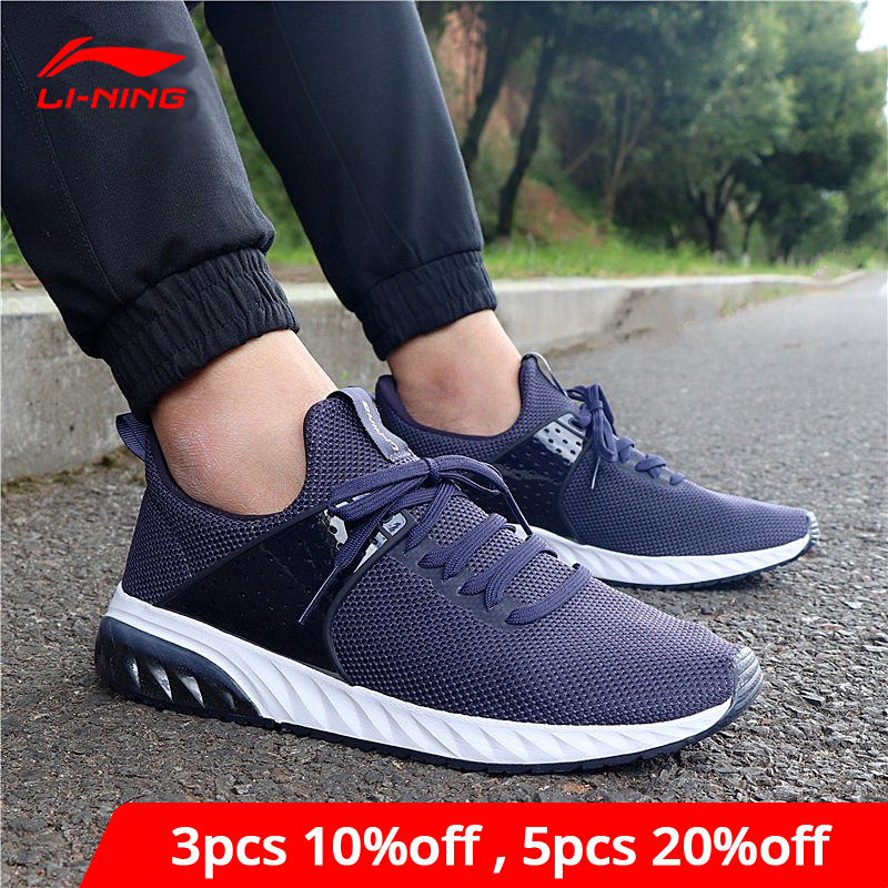 Li-Ning Men GEL ROCKER Classic Lifestyle Shoes Breathable Wearable LiNing Li Ning Sport Shoes Fitness Sneakers AGCN043 YXB157