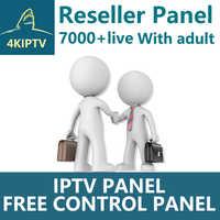 4KIPTV Reseller Panel Netherland IPTV French IPTV Arabic ENGLISH Support Android m3u enigma2 7000 live+VOD Iptv Adult
