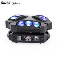 Светодиодный 9x10 Вт светодиодный прожектор RGBW 16/48CH DMX Podium Verlichting Dj светодиодный прожектор