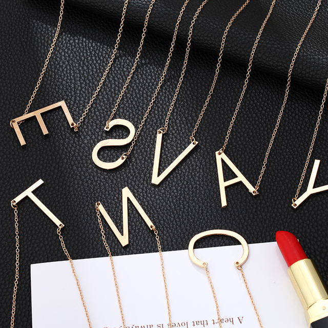 A to Z Necklace - 26 4
