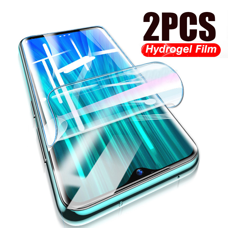 400D 2Pcs Hydrogel Soft Film For Xiaomi Redmi Note 7 8 9 9S 6 Pro 8T Screen Protector Redmi 7A 8A Note 9 Protective Film Glass(China)