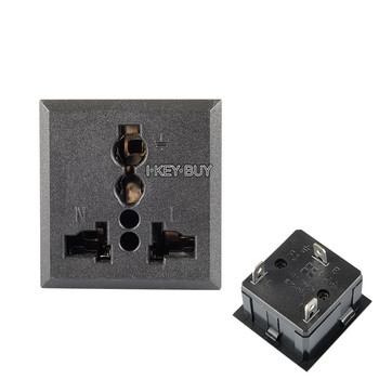 Gas Shielded Welding Machine Heating Carbon Dioxide Meter Welding Machine Input Socket National Standard AC Socket 13A 3P nb mig 270315 gas shielded welder power supply plate carbon dioxide welding machine circuit board