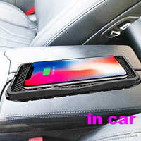 10W QI Universal Car Charger Wireless Charger Car Charging pad for samsung s9 Fast phone charger for iPhone X 8plus XR 11 pro