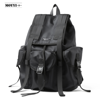 Men Backpack Nylon Waterproof Anti Theft Backpack School Bags For Teenage Boys College Large Capacity Men's Travel Bag Mochila usb laptop backpack women men waterproof anti theft travel backpack school bag for teenage boys girls students bookbag mochila