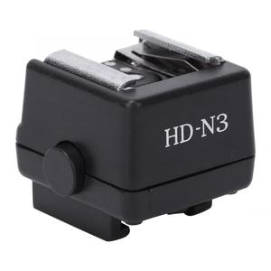 Image 2 - HD N3 플래시 라이트 핫슈 장착 어댑터 소니 a100 a200 a230 a300 a330 a350 a700 a900 비디오 카메라 용 비디오 액세서리