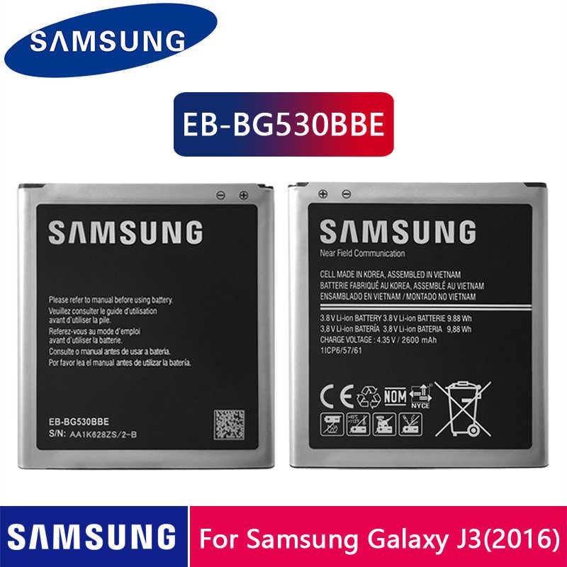Originale Batterie Samsung 2600mAh Pour Galaxy Grand Prime G530 G530F G530FZ G530Y G530H G531 J500 J3 (2016) J320 EB-BG530BBE NFC