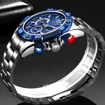 2020 New Watches Mens LIGE Sports Waterproof Watch For Men Luminous Chronograph Top Brand Luxury Relogio Masculino