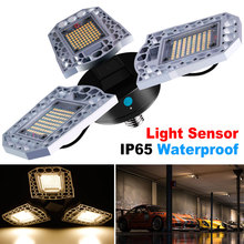 Bombilla LED E27 para garaje, Deformable, impermeable, AC100 277V, 60W, 80W, 100W, lámpara UFO superbrillante para almacén