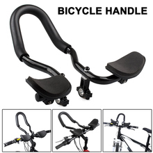 Newly Bike Handlebar Aluminium Alloy Rest Bar Handle for Mountain Road Bicycle Cycling SD669 цена
