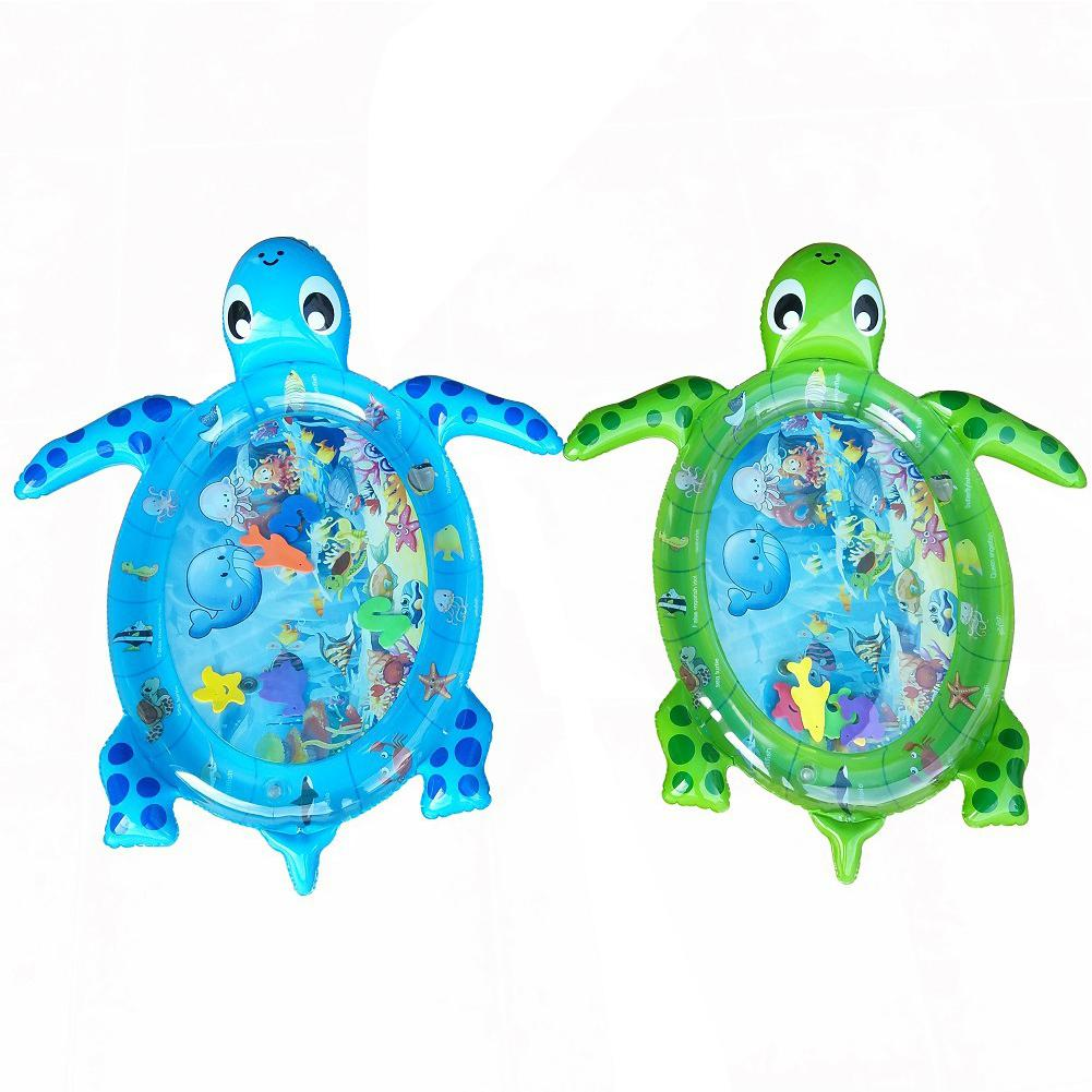 GloryStar Thickening Inflatable Tortoise Ice Mattress Made Of Environmentally Friendly PVC