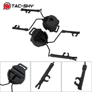 Image 2 - Military tactics Peltor helmet ARC OPS CORE helmet track adapter headphone bracket and fast action core helmet rail adapter   BK