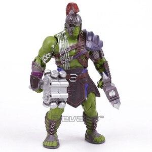 Image 4 - Thor 3 ראגנארוק האלק רוברט ברוס באנר PVC פעולה איור אסיפה דגם צעצוע