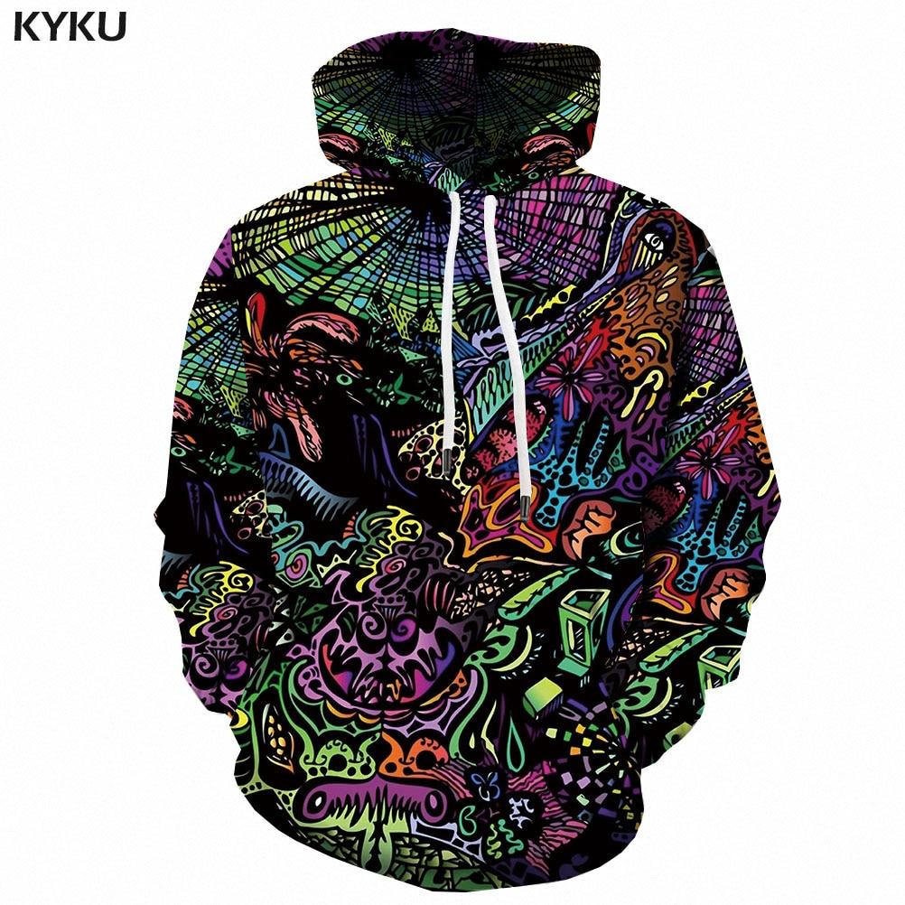 3d Hoodies Psychedelic Sweatshirts men Element Hooded Casual Abstract Hoody Anime Graffiti Hoodie Print Funny 3d Printed