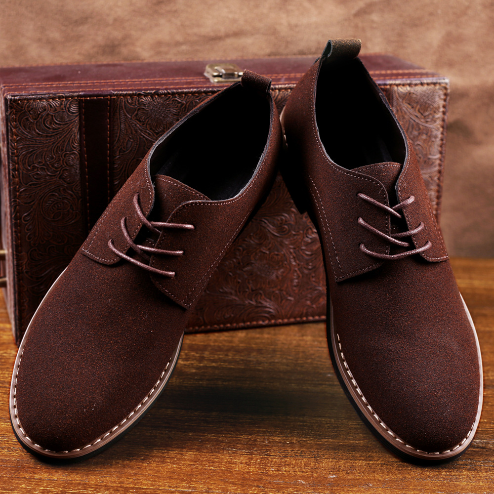 Male suede Leather Classic Brogue Formal Shoes Men Dress Shoes Male Wedding Office Business Shoes 2020 dfr4