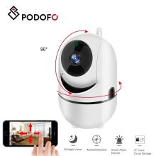 PODOFO 360° Wireless Camera HD 720P IP Security WIFI Camera With Audio CCTV Camera for Home Mobile Phone 24H