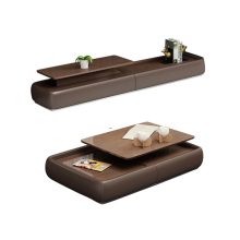 Мебель для дома, гостиной, журнальный столик, минималистичный современный стиль, деревянный прямоугольный стол mesas, basse de salon+ подставка под ТВ, мебель