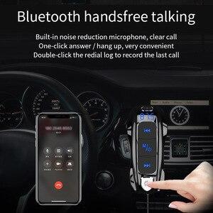 CDEN FM передатчик автомобильный mp3 музыкальный плеер Bluetooth 5,0 приемник Музыка Быстрая зарядка USB Автомобильное зарядное устройство